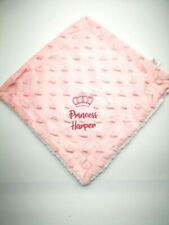 Personalised Baby Comforter  Blankie/Blanket- Quality Gift princess/prince NEW