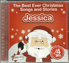JESSICA - THE BEST EVER CHRISTMAS SONGS & STORIES PERSONALISED CD