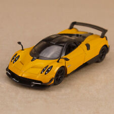 2016 Pagani Huayra BC Metallic Yellow Model Car 1:38 12cm Die-Cast Pull Back