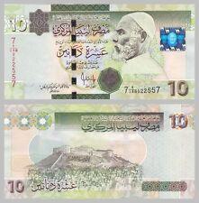 Libyen / Libya 10 Dinars 2009 p73 unz.