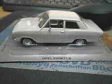 OPEL Kadett B Limousine weiss 1965 - 1973 Stufenh IXO Altaya Atlas Agostini 1:43