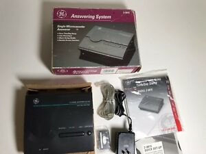 GE Answering System Machine Microcassette Remote Access Model 2-9815