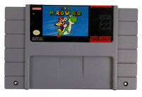 Super Mario World SNES Super Nintendo Original Cart Only- Tested Free Shipping