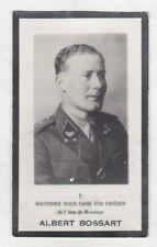 SOLDAAT Luitenant 2e Carabin.A.BOSSART °RANCE Gesneuveld VELDWEZELT 10 Mei 1940