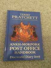 Terry Pratchett ANKH-MORPORK POST OFFICE HANDBOOK Discworld Diary 2006 Fine