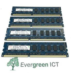 8GB (4x2GB) Hynix 2Rx8 PC3-10600E HMT125U7BFR8C-H9 ECC Server RAM