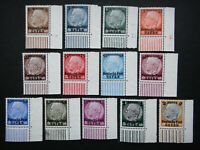 Germany Nazi 1939 Stamps MINT von Hindenburg Overprint 1934 Surcharged Generalgo