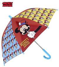 Disney Mickey Paraguas Diámetro 64cm 3/7 Años Nuevo