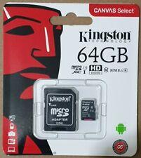 For Nextbase 312GW 380GW 412GW 512GW Dash Cam 64GB Kingston Micro SD Card 80MB/s