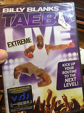 Billy Blanks New Sealed DVD Taebo Live Extreme