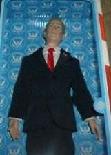 NEW President GEORGE W BUSH Talking Action Figure Doll Toypresidents MIB