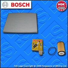 SERVICE KIT for OPEL VAUXHALL CORSA D 1.0 A10XEP OIL CABIN FILTERS PLUGS (09-15)
