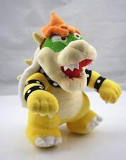 "Nintendo Super Mario 10"" Standing King Bowser Koopa Plush Toy Stuffed"