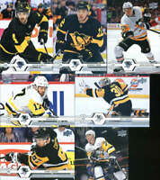 2019-20 Upper Deck Series 1 & 2 Pittsburgh Penguins Veterans Team Set 13 Cards