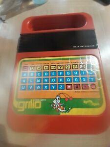 Grillo Parlante Clementoni Texas Instruments Gioco Elettronico vintage '80