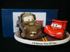 ct Precious Moments-Disney Cars 3-Lightning McQueen/Mater-I'll Never Tire Of You