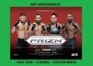 Kamaru Usman 2021 Panini PRIZM UFC HALF Case 6x BOX BREAK #2
