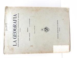 A. Machetto L. F. De Magistris La geografia comunicazione De Agostini 1912-1913
