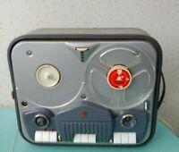 Vintage 1960 Philips 4 Track Reel-to-Reel Tape Recorder Model EL3542A 52S