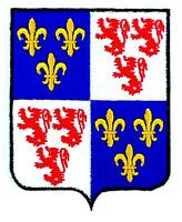 Patch ecusson brodé PICARDIE  Blason armoirie drapeau region heraldique
