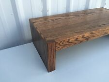 TV Riser Stand Modern Style with Coffee Finish