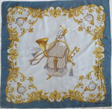 95bb4c5b5387 -Superbe Foulard CELINE 100% soie TBEG vintage scarf 87 x 88 cm