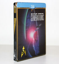STAR TREK. GENERATIONS [STEELBOOK LIMITED EDITION BLU-RAY DISC] UNIVERSAL [RARO]