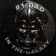 Disney Parks Star Wars Darth Vader #1 Dad In The Galaxy Pin