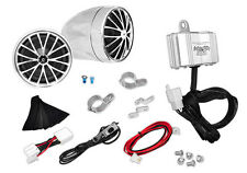 PYLE PLMCA30 ATV/MOTORCYCLE/BOAT Sound Speaker Package Waterproof Package
