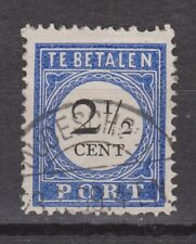 P16 Port nr 16 CANCEL OUDESCHANS NVPH Nederland Netherlands due used portzegel