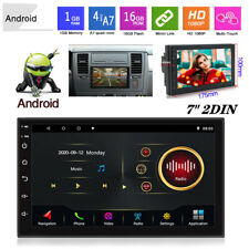 7''Screen 2DIN Android 10.1 Car Auto MP5 Player Stereo Radio GPS Navigation Wifi
