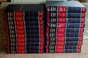 Collier's Encyclopedia Complete Set 20 Volumes 1957 Vintage Antique Rare