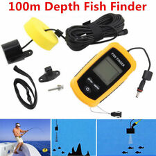 100M Lcd Finder Fish Fishing Camera Underwater Sonar 7 Sensor Portable Monitor