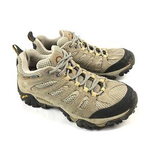 Merrell Moab Ventilator Low Womens 7 Beige Mid Hiking Trail Boots Shoes