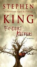 The Bill Hodges Trilogy Ser.: Finders Keepers by Stephen King (2016, US-Tall Rack Paperback)