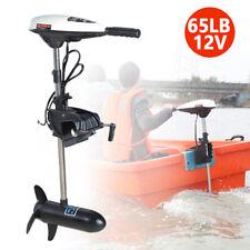 65LBS MOTORE ELETTRICO FUORIBORDO GOMMONE 12V kayak pesca barca Albero corto