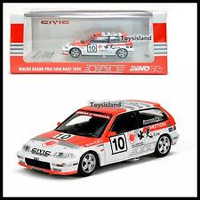 INNO64 1/64 HONDA CIVIC EF9 #10 IDEMITSU MOTION MACAU GUIA RACE 1990 TINY NEW