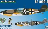 eduard Messerschmitt Me Bf 109G-2 Trautloft Carganico 1:72 Modell-Bausatz kit