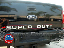 08-16 Ford F-250/Super Duty Tailgate Trim Molding Letter Accent Stainless Steel