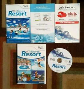 Wii Sports Resort Complete (Wii, 2009) VG Shape & Tested