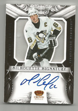 2012-13 Crown Royale Silhouette Signature Materials #31 Mario Lemieux SP