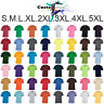 T-SHIRT Blank Plain Basic Tee S - 5XL Small Big Men's Cotton Premium Quality