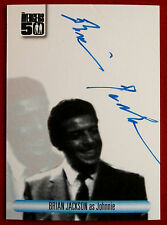 THE AVENGERS 50th - BRIAN JACKSON as Johnnie - BLUE INK Autograph Card AVBJ