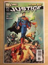 Justice League 3 Greg Capullo Variant DC 2011 New 52 Geoff Johns Jim Lee