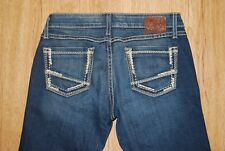 Buckle BKE Sabrina Boot Low Rise Distressed Boot Cut Jeans Women's Sz 26 R