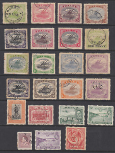 PAPUA collection of 23 stamps Used