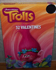 Valentines Day Cards (Box of 32) Dreamworks Trolls