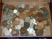 Job lot of 1.5kg of world coins Unsorted (WC9)