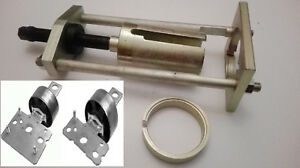 VOLVO V70 III, XC60 REAR BUSH TRAILING CONTROL ARM REMOVAL  INSTALL PULLER TOOL