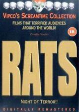 RATS NIGHT OF TERROR BRUNO MATTEI VIPCO SCREAMTIME UK PAL REGION FREE DVD L NEW